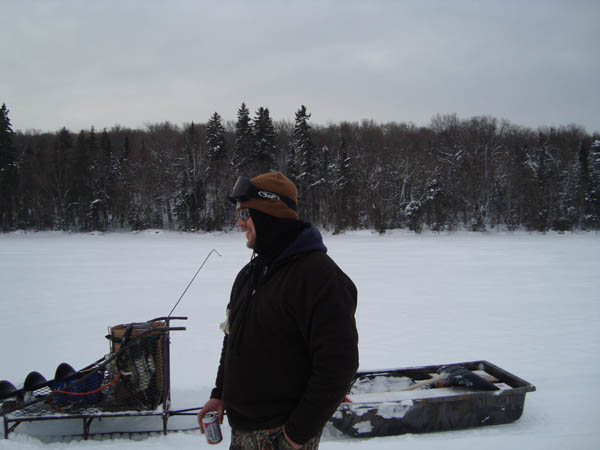 Ross lake camps at ross lake for Maine ice fishing