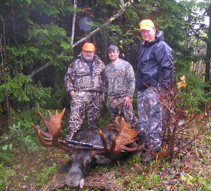 Ross Lake Camps Maine Moose Hunting